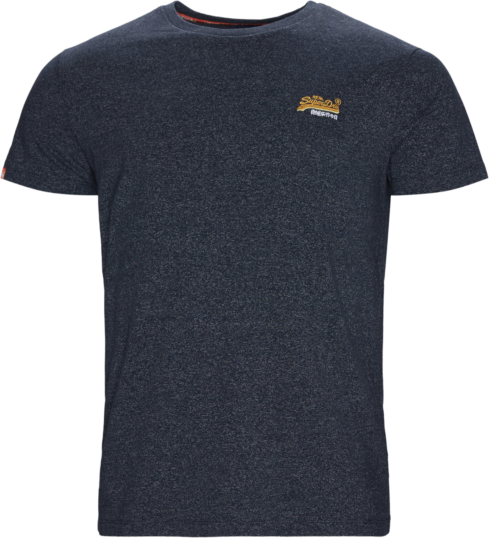 M1010 T-shirt - T-shirts - Regular fit - Blå